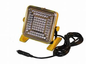 V dc auto plug end led flood light kamrock lights