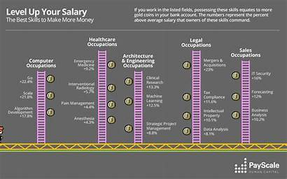 Skills Payscale Job Money Pay Which Data