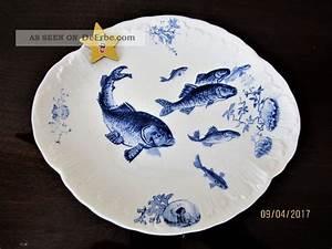 Villeroy Und Boch Alte Serien : villeroy boch serie delphin fischteller mettlach um 1900 ~ Eleganceandgraceweddings.com Haus und Dekorationen