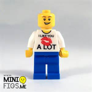 sports hair bands personalised i like you a lot lipstick minifig minifigs me
