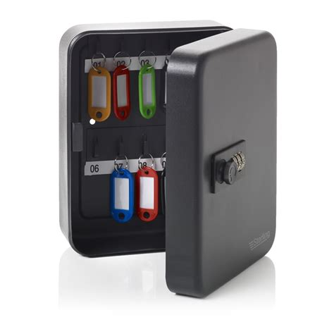 key storage cabinet with combination lock wilko key cabinet with combination lock black at wilko com