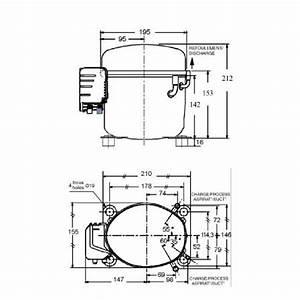 L Unite Hermetique Cae9460z Hbp R22 R404a Compressor Tubed