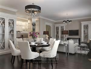 Kitchen Room Interior Kitchen Living Room Design In The Deco Style Modern Living Room Ideas And Pictures