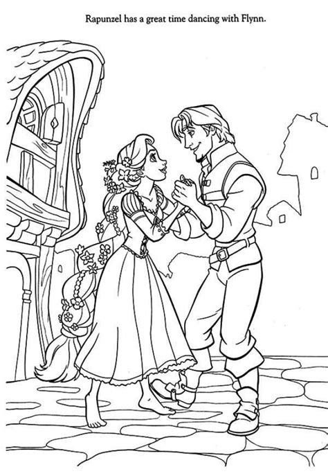 Coloring Pages Of Flynn Ryder