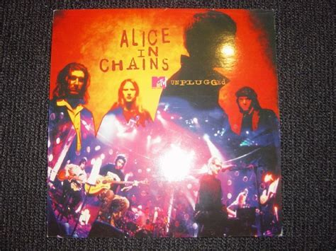 In Chains Angry Chair Unplugged by Popsike In Chains Mtv Unplugged Lp Vinyl