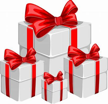 Gift Transparent Clipart Santa Claus Boxes Gifts