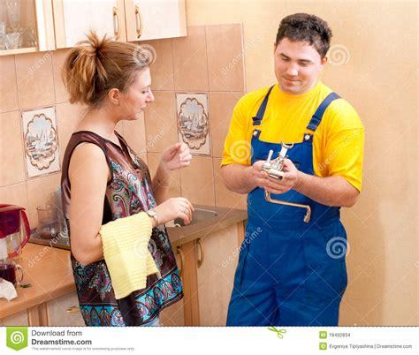plumber man stock images image