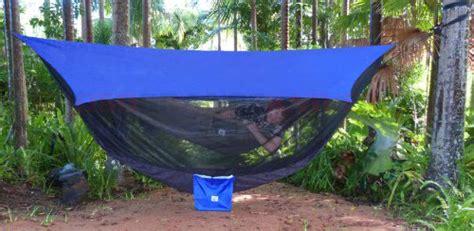 Hammock Bliss Sky Tent 2 by Hammock Bliss Sky Tent 2 Blue Osograndeknives