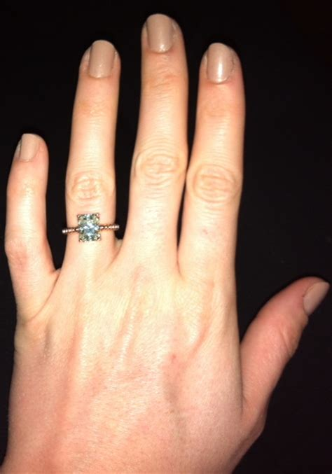 gold 9 215 7 2 5 ct radiant cut moissanite solitaire