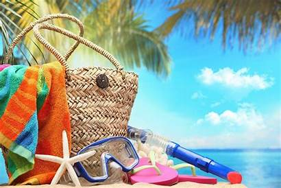 Summer Vacation Beach Accessories Sea Holiday Wallpapers