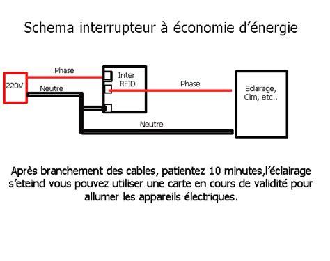 interrupteur pour le de bureau interrupteur zeno à économie d 39 énergie rfid à carte bt