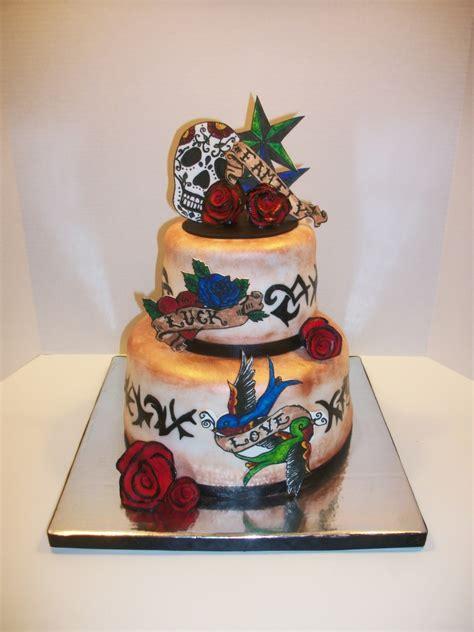 tattoo cake cakecentralcom