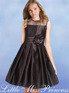 Beautiful Black Party Dresses for Girls