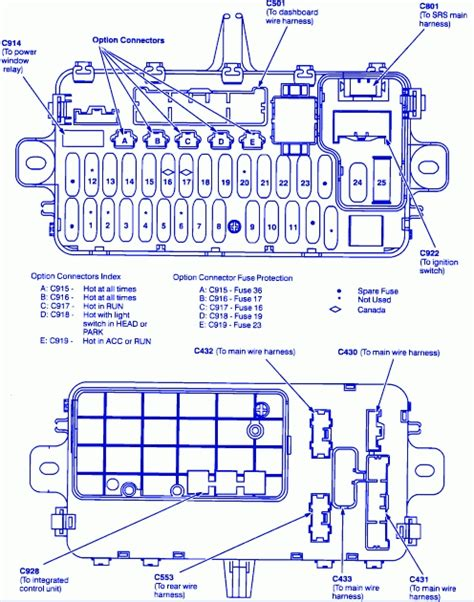 2000 honda cr v ignition wiring diagram fuse box and