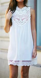 17 best ideas about robe dentelle blanche on pinterest With robe trapeze blanche
