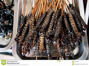 Fried Centipede, Chinese Cuisine Stock Photos - Image ...