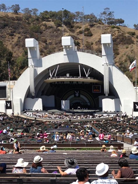 hollywood bowl section  rateyourseatscom