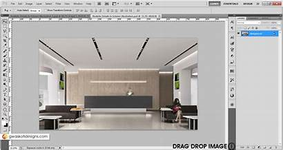 Photoshop Interior Rendering Realistic 3d Rendered Glow