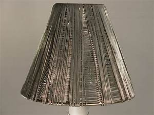 Quot metal clip on chandelier lamp shade