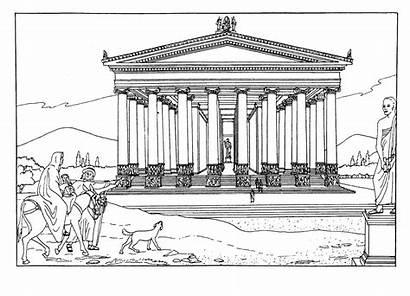 Templo Colorear Artemisa