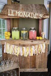 diy, lemonade, stand, ideas, that, look, so, adorable