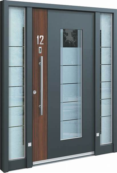 Door Aluminium Doors Aluminum Fire Modern Entrance