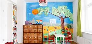 Ideen Für Kinderzimmer Wandgestaltung : kinderzimmer wandgestaltung die sch nsten ideen ~ Lizthompson.info Haus und Dekorationen