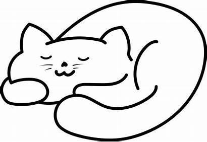 Svg Cat Sleeping Commons Wikimedia Pixels Wiki