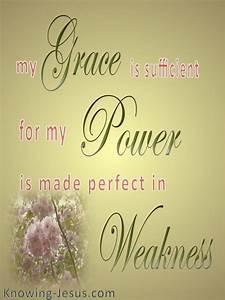 2 Corinthians 12 9 My Grace Is Sufficient  Gold