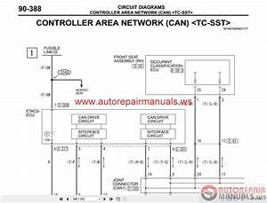 Mitsubishi Lancer Evolution X 2010 Wiring Diagrams
