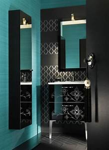 Exotic contemporary bathroom furniture and decorating for Bathroom in middle of house