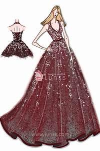 Fashion Design Sketches Of Prom Dresses Prom Dresses ...