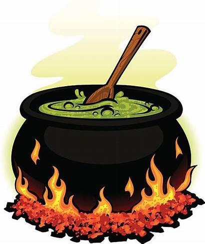 Pot Chili Spooky Cauldron Cooking Cook Clip