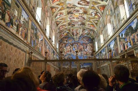 le plafond de la chapelle sixtine visiter la basilique ou le vatican rome voyage en europe et en am 233 rique