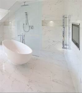 marble effect porcelain contemporary bathroom With marble bathroom tiles uk