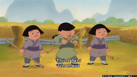 Mulan 2 ~ Lesson Number One ~ Sing Along Video ~ 720pᴴᴰ