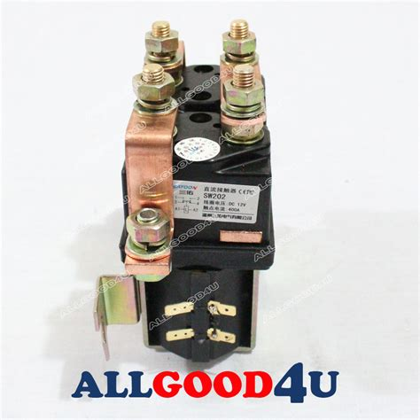 sw202 style reversing contactor 12v heavy duty 400a for albright electric ebay