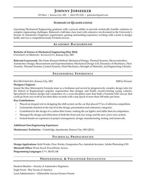 new graduate resume sle resume sles