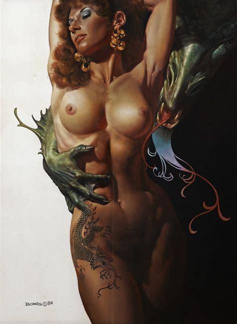 Dorian Cleavenger Erotic Fantasy Art