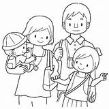 Parents Coloring Obey Children Obeying Printable Getcolorings Pag sketch template