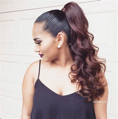 Ponytail Hairstyles by 25 Ponytail Hairstyles For Special Occasions