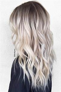 Ombre Hair Blond Polaire : 50 platinum blonde hair shades and highlights for 2018 going blonder pinterest hair ~ Nature-et-papiers.com Idées de Décoration