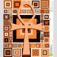 Egyptian Key Of Life Royaltyfree Stock Image