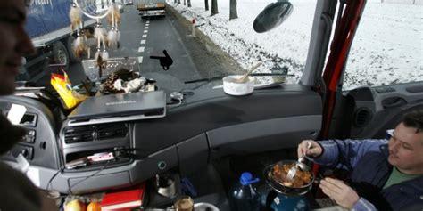 camion americain interieur cabine transport routier la veut une agence europ 233 enne pour stopper le dumping social