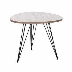 Table Basse Hauteur 60 Cm : table basse ronde hauteur 50 cm maison et meuble de maison ~ Nature-et-papiers.com Idées de Décoration