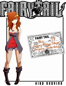 Fairy Tail ID by coffaefox on DeviantArt