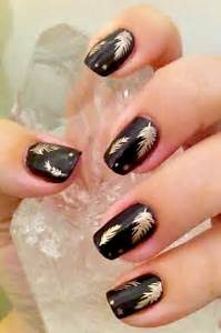 Black and gold nail designs simple you