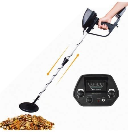 md 4030 professtional underground metal detector regolabile gold detectors treasure