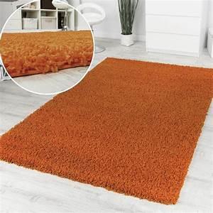 Hammer De Teppich : shaggy orange hochflor langflor teppich einfarbig top aktion zum hammer preis restposten ~ Indierocktalk.com Haus und Dekorationen