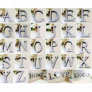 popular alphabet mirror letters buy cheap alphabet mirror With 3d alphabet letters for wall